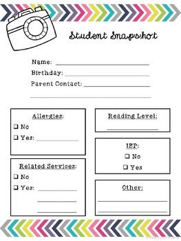 Student Snapshot