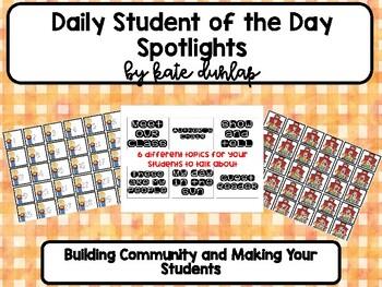 Student Spotlights