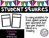Student Squares