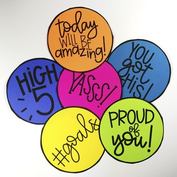 Student & Staff Encouragement Notes: HAPPY DOTS :)