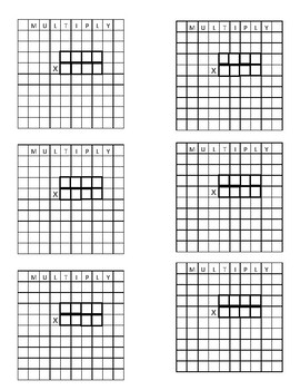 Student Sticky Notes Templates-Grids, Guides, Charts for Math