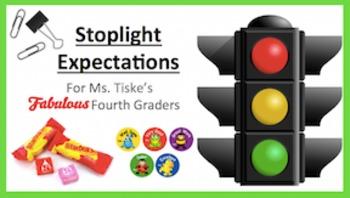 "Student ""Stoplight"" Complete Positive Behavior Set"