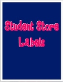Student Store Labels