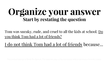 How To: Answer Questions