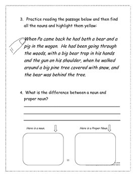 Little House in the Big Woods Student Study Guide and Reading Response
