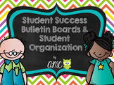 Student Success Bulletin Boards and Student Organization (Editable)