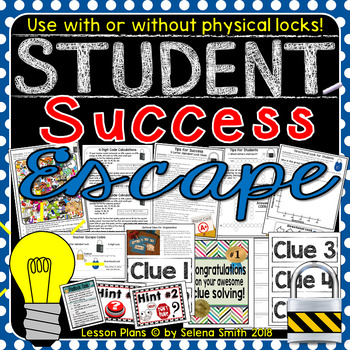 Student Success Escape - Back to School or Any Time