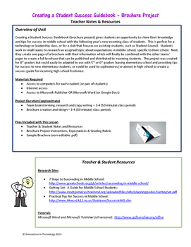Student Success Guidebook - Brochure Project