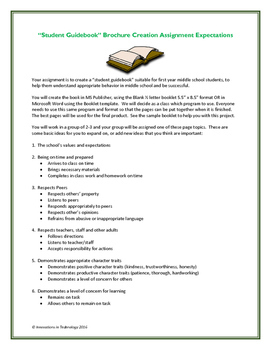 Student Success Guidebook - Brochure Project