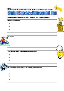 Student Success: Improvement Achievement Plan