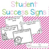Student Success Signs