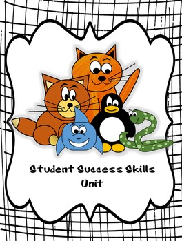 Student Success Skills Unit - How to be a Success at School