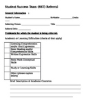 Student Success Team Referral Form