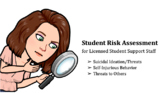 Student Support Risk Assessment - Planning for Safety