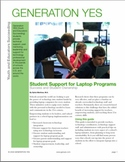 Student Support for Laptop Programs