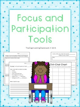 Speaking and Listening Participation Tools