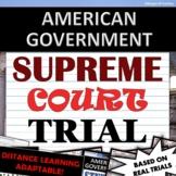 Student Supreme Court Case Trial - American Government / Civics - Activity