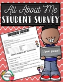 Student Survey - All About Me