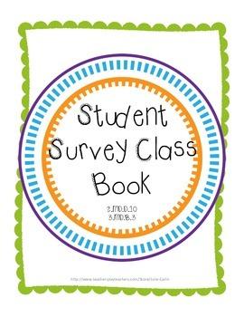 Student Survey Class Book