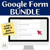 Digital Class Surveys Bundle for Year Long Data Collection