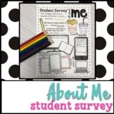 Student Survey Freebie