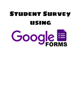 Student Survey - Google Style!