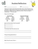 Student Survey for IEP/Student Lead Conference