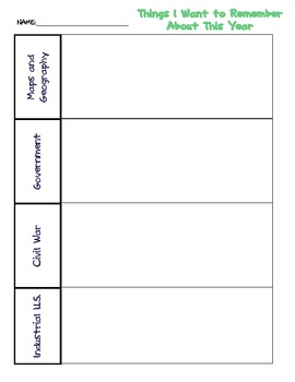 Student TCAP Take-Away Study Guide