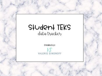 Student TEKs Data Tracker (Editable)