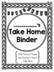 Student Take Home Binder Covers - Geometric