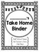 Student Take Home Binder Covers - Geometric