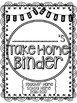 Student Take Home Binder Covers - Doodle