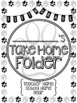 Student Take Home Folder & Binder Covers - FIFTH GRADE BUNDLE