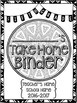 Student Take Home Binder Covers - FIFTH GRADE BUNDLE