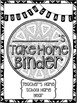 Student Take Home Binder Covers - FOURTH GRADE BUNDLE