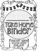 Student Take Home Binder Covers - Pencils