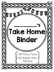 Student Take Home Binder Covers - SECOND GRADE BUNDLE