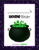 Student Take Home Binder (Harry Potter Version)