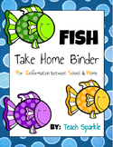 Student Take Home Binders (Fish Version)