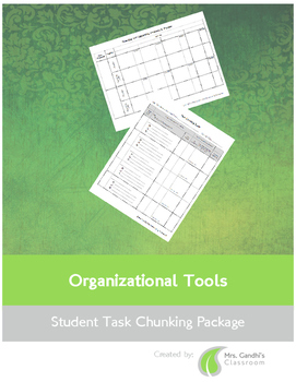 Student Task Chunking Package