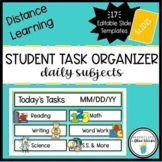 Teal Slide Templates for Distance Learning Mini Set