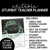 Student Teacher Binder & Planner