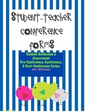 Student-Teacher Conference and Goal-Tracking Forms