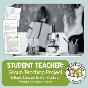 End of Year Project for ANY Subject {EDITABLE}