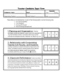 Student Teacher Evaluation Form