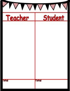 Student Teacher Game