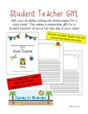 Student Teacher Gift - Class Book