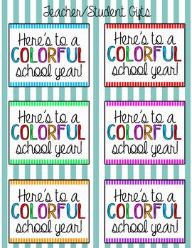Student & Teacher Gifts