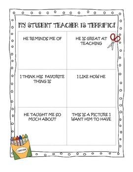 Student Teacher Good-Bye