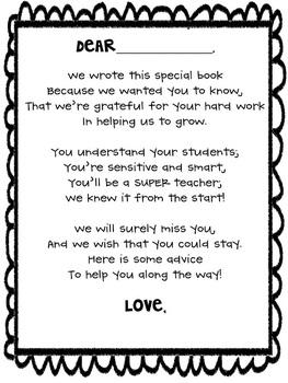original-449396-2 Teacher Leaving Letter Template on